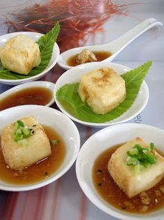 The Modern VEGETARIAN - Recipes: Agedashi Tofu