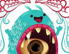 Monster Two Mouths - Yoshio Romero