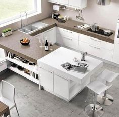 Small-sized kitchens do make your space restricted.  Yet if you can learn tricks to outmaneuver through the ideal style, even a tiny kitchen will certainly really feel comfortable like a big kitchen. #SmallKitchen #SmallKitchenIdeas #SmallKitchenFridge