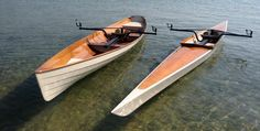 Oxford Shell: A Beautiful Recreational Rowing Shell That You Can Build!