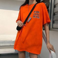 Tumblr Aesthetic Clothes, Aesthetic T Shirts, Kpop Fashion Outfits, Korean Outfits, Fashion Fashion, Korean Fashion, Spring Fashion, Oversized Shirt Outfit, Cool Outfits