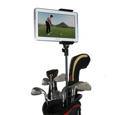 Golf Gadgets Golf Bag Video Recording Mount System Using Your Phone or Tablet Capture Footage on the Course or Range Telescoping Bag Pole -- Visit the image link more details. Golf Gadgets, Phone Gadgets, Electronics Gadgets, Car Accessories For Women, Accessories Store, Cell Phone Accessories, Phone Tripod, Mount System, Mp4 Player