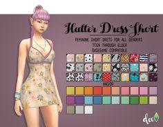 Halter Dress Short - Deetron Sims