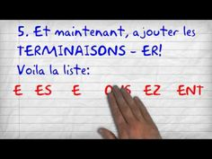 A video tutorial for explaining Present Tense in French.