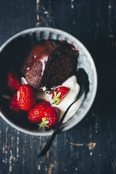 The ultimate proof decadent-yet-healthy-ish chocolate cakes exist. Get the recipe here.