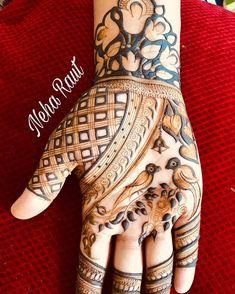 Indian Mehndi Designs, Stylish Mehndi Designs, Wedding Mehndi Designs, Mehndi Designs For Fingers, Beautiful Mehndi Design, Henna Tattoo Designs, Mehndi Design Pictures, Mehndi Images, Mehendhi Designs
