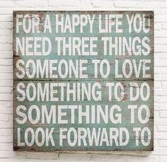 Three Things...