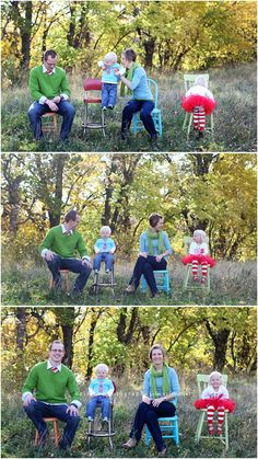 coordinating colors for family photo shoot