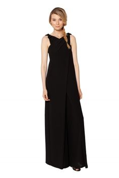 RAOUL JEANETTE JUMPSUIT: This jumpsuit is so chic! For a black tie affair or a formal gathering this versatile jumpsuit is both comfortable and stylish.