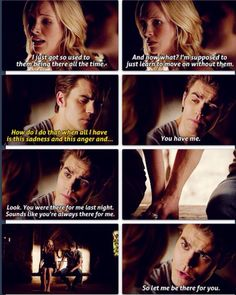 Idc that I have already pinned this!! It is day 6 and I am choosing my favorite friendship by far, Steroline! Not as a ship but as a FRIENDship;) they are so caring of each other and I love it!!