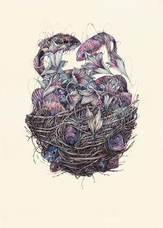 Marco Mazzoni adalah seniman asal Italia. Dia melukis menggunakan media pensil warna. Karya-karyanya kebanyakan mengambil objek hewan. Denga...