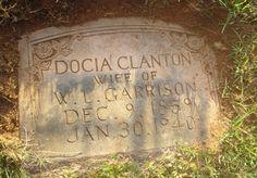 Theodocia Eva Docia <i>Clanton</i> Garrison Family History, Genealogy