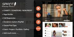 awesome Grant - Charity / Nonprofit / NGO Joomla Template