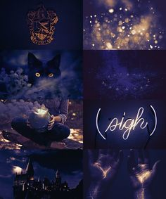 """HOUSE AESTHETIC: Ravenclaw, """"Or yet in wise old Ravenclaw, If you've a ready mind, Where those of wit and learning, Will always find their kind."""""""
