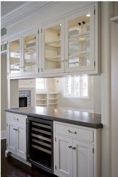 Pass through between kitchen & dining room