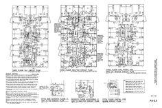 Example Floor Plan - Ocean Beach Hotel - Virginia Beach, Virginia - CHDrafting