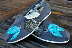 Native American Dream Catcher TOMS shoes by BStreetShoes on Etsy. $129.00 USD, via Etsy.