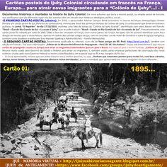 IJUÍ - RS - Memória Virtual: Cartões postais do Ijuhy Colonial circulando em…