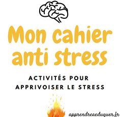 Je vous propose de télécharger gratuitement un cahier anti stress destiné aux enfants (à partir de 7/8 ans) et adolescents. Ce cahier propose un éclairage sur le fonctionnement du stress et des outils pour apprivoiser le stress.