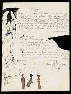 Manuscrit Guillaume Apollinaire
