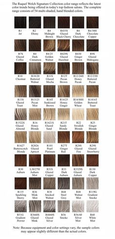 Shades Of Blonde Hair Color Chart