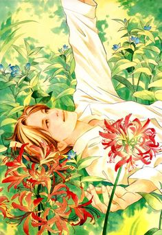 Locus of Blue Shoujo, Outline, Manga Anime, Book Art, Cartoon, Drawings, Illustration, Artist, Painting