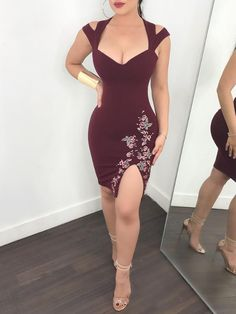 Bodycon Dresses Good Quality not Fashion Nova Camo Dress -- Indian Dress Fashion Design Sketches Tight Dresses, Sexy Dresses, Cute Dresses, Short Dresses, Fashion Dresses, Mini Dresses, Sexy Outfits, Dress Outfits, Actrices Sexy