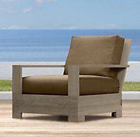 Belvedere Lounge Chair | Ottomans | Restoration Hardware
