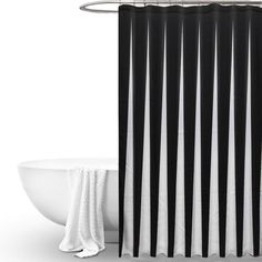 NEW!!!Waterproof Black White Fabric Bathroom Shower Curtain Liner Polyester Decor Simple Style-in Shower Curtains from Home & Garden on Aliexpress.com | Alibaba Group