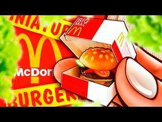 Realistic Miniature McDonald's Crispy Chicken Snack WRAP Tutorial! | DollHouse DIY ♥ - YouTube