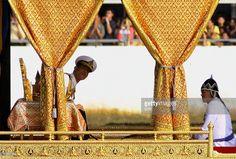 Thailand's Crown Prince Maha Vajiralongkorn looks towards a room of. Bhumibol Adulyadej, My King, Bangkok, Flow, Celebrations, Brain, Thailand, November, Prince