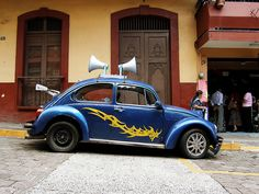 vw beetle I could shout at ppl to get out of my way!!!!