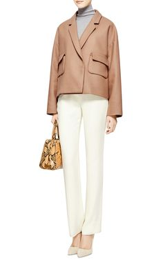Oversized Wool-Blend Jacket by Rochas - Moda Operandi