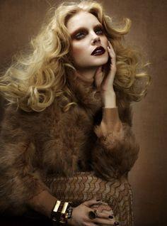 Jessica Stam by Cuneyt Akeroglu for Wonderland