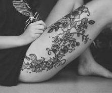 tatuaże udo - Szukaj w Google