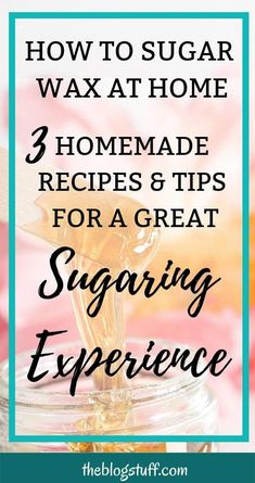 How to sugar wax at home using 3 diy recipes with only 3 ingredients. Remove your unwanted hair with homemade sugar wax recipes with no lemon and with lemon. #sugarwax #howtomakesugarwax #diysugarwaxrecipe #sugarwaxrecipe #hairremoval #bodycare #skincare #beauty #PermanentHairRemovalCream Permanent Facial Hair Removal, Leg Hair Removal, Sugaring Hair Removal, Remove Unwanted Facial Hair, At Home Hair Removal, Unwanted Hair, Sugar Wax Recipe, Homemade Sugar Wax, Protective Styles