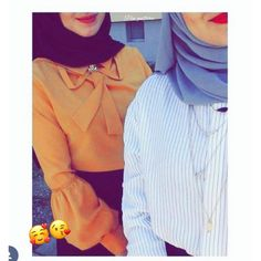 👩❤️👩🥰💗😘❤️ Cool Girl Pictures, Girl Photos, Muslim Fashion, Hijab Fashion, Dubai Fashionista, Pretty Brown Eyes, Afghan Girl, Designs For Dresses, Best Friend Photos