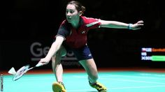 Scotland's Kirsty Gilmour missed out on a maiden Grand Prix title after Spanish third seed Carolina Martin fought back to beat her in London.