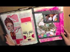In this video, I go through my competed journal for 2013, An altered Singer Sewing book. If there is anything you like that you like in the journal feel free...