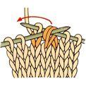 編み目記号の編み方 棒針編み   編み物   手づくりタウン 日本ヴォーグ社