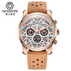 Rebirth Top Brand Luxury Casual Men Quartz Watches Nylon Weave Strap Waterproof Sport Male Clocks Man Wristwatches Fashion Gifts Men's Watches Watches