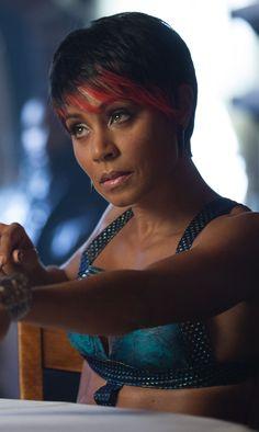 Gotham- Jada Pinkett-Smith as Fish Mooney. LOVE this hairstyle in this