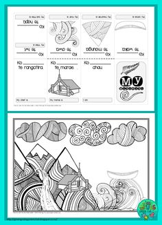 FREE Mihi/Pepeha template by Green Grubs Garden Club Art Activities For Kids, Teaching Activities, Teaching Tools, Teaching Resources, Teaching Ideas, Treaty Of Waitangi, Zentangle, Waitangi Day, Maori Words