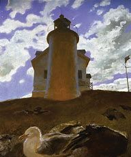 Jamie Wyeth (American, Contemporary Realism, b. Comet, Oil on canvas, 48 x 40 inches. This artwork or photograph is posted in accordance with fair use principles. Jamie Wyeth, Andrew Wyeth Paintings, Andrew Wyeth Art, Shelburne Museum, Brandywine River, Art Timeline, Art Periods, Eye Art, Museum Of Modern Art