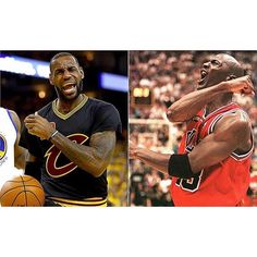 In the Cavs 112-97 victory tonight King James became just the third player since 1970 to finish with at least 40 pts 15 reb and 5 ast in a Finals game. While doing so The King passed Michael Jordan for the most 20 point games (174) in post season history. #dhtk #REPRE23NT #donthatetheking