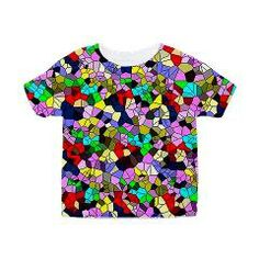 #effect #mosaic #Toddler All Over Print #Tee> Effect, Mosaic> MehrFarbeimLeben