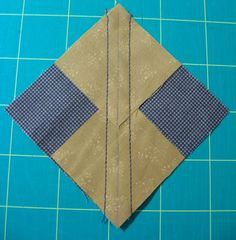 This method is used in my Farmer's Wife Quilt Revival  pattern classes.  The  'No Waste' Flying Geese method is a great technique, making...