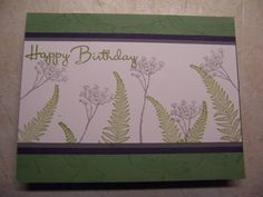 I cased this card from Barbara1976.  Her card is here: http://www.splitcoaststampers.com/gallery/photo/1449613.  I loved the colors and this was a great, simple birthday card.