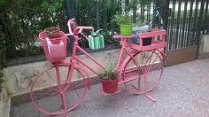 Bicicleta maceteros