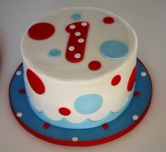 Cake to go with whale or nautical theme